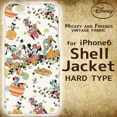 尼德斯Nydus~* 日本正版 迪士尼 米奇 米妮 硬殼 手機殼 iphone6 4.7吋 -人氣角色大集合