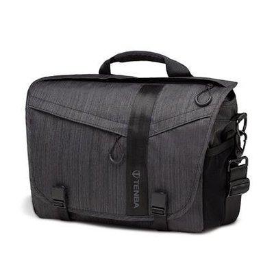 Tenba Messenger DNA 11・ 特使肩背包 (墨灰色 638-371) 11吋平板 筆電 側背包 相機包