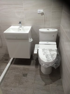 TOTO組合馬桶 CW60+免治TCF6601T+臉盆L710+專用浴櫃(衛生紙孔)+無鉛龍頭TLS03301PA