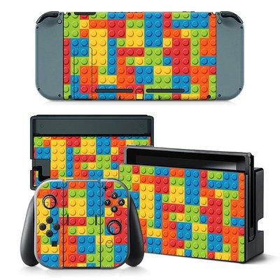 0291-0315 NS個性膜 Switch游戲機全身保護貼紙