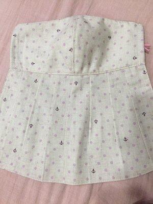 天使熊雜貨小鋪~新純手工日本布立體口罩(紫色海錨點點口罩)大人加長版庫存一個~~原價390