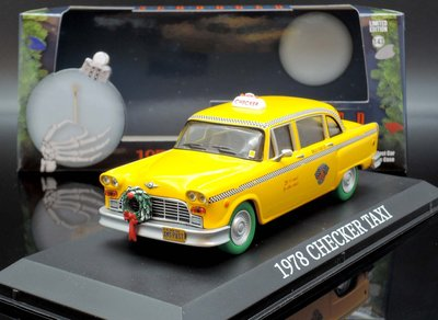 【M.A.S.H】現貨特價 Greenlight 1/43 Checker Taxi Cab Scrooged 1978
