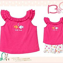 【B& G童裝】正品美國進口GYMBOREE小魚圖樣粉紅色圓領背心上衣2,5yrs