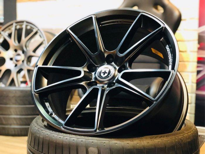 國豐動力 適用 BMW F3X F1X X3 X4 F30 F10 美國 HRE FF04 19吋旋壓輕量鋁圈 黑色現貨一套 歡迎洽詢