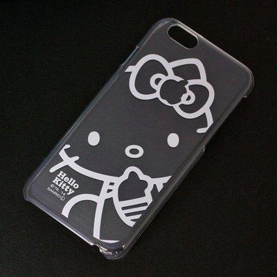 尼德斯Nydus~* 日本三麗鷗 Hello Kitty 透明系列 手機殼 保護殼 iPhone6 4.7吋 經典款