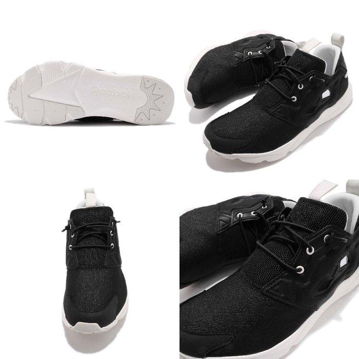 1bf0df31134c  CodE  REEBOK FURYLITE CLEAN 透氣網布慢跑鞋(黑白)CN7302 INSTA