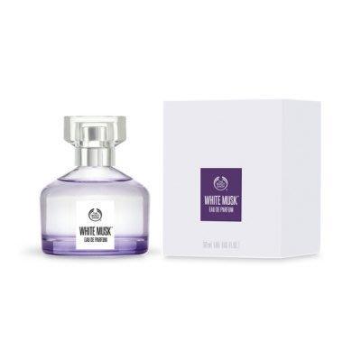 售完~小桃子【TBS029】The Body Shop美體小舖 白麝香絲柔香水 50ml 持久型   發票