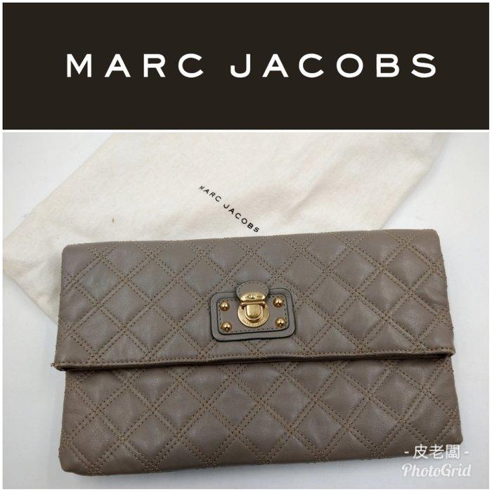 【皮老闆】2980起標 二手真品 美國精品 Marc Jacobs 手拿包 I3