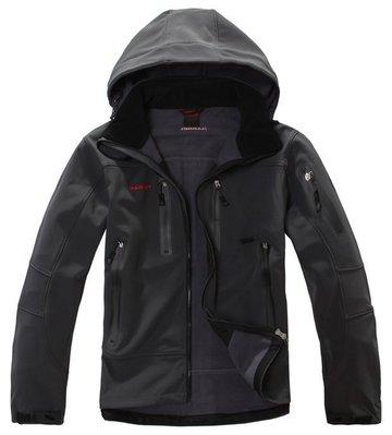 全新 猛馬象秋冬款Gore-Tex防水面料軟殼衣 防水防風抓絨衝鋒衣戶外保暖外套k110