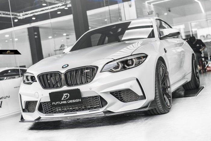 【政銓企業有限公司】BMW F87 M2C 專用 FDGT 高品質 抽真空 CARBOON 卡夢 前下巴 免費安裝 現貨