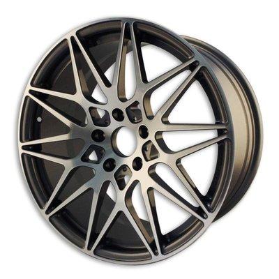 世盟鋁圈 B110 透明灰 鍛造鋁圈 19吋鋁圈 18吋鋁圈 輪圈 輪框 輕量化鋁圈 CS車宮車業
