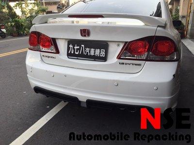 九七八汽車精品 本田 HONDA 喜美八代 後 RR 包 單邊雙出 CIVIC8 8代 K12 RR 無限 !