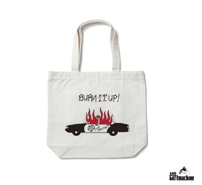 GOODFORIT / 日本Softmachine BURN UP TOTE BAG火燒警車托特包款