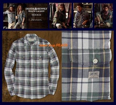 Ralph Lauren 美國【現貨↘打4.5折】L號 Denim&Supply 襯衫 Ferry Plaid