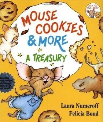 全新MOUSE COOKIES & MORE A TREASURY~精裝厚書+CD~/吳敏蘭/廖彩杏