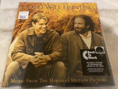 (全新未拆封)心靈捕手 Good Will Hunting 電影原聲帶 黑膠LP