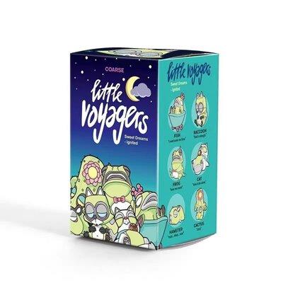POPMART泡泡瑪特 COARSE小小冒險家系列晚安熱浪冰點盲盒確認款