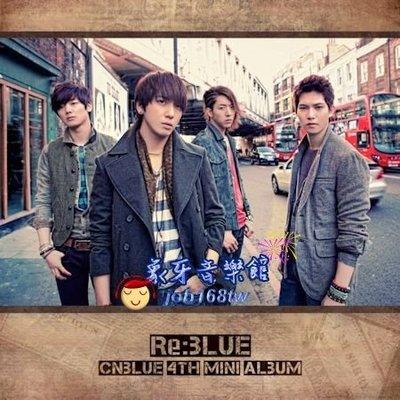 【象牙音樂】韓國人氣男團體-- CNBLUE Mini Album Vol. 4 - Re:BLUE