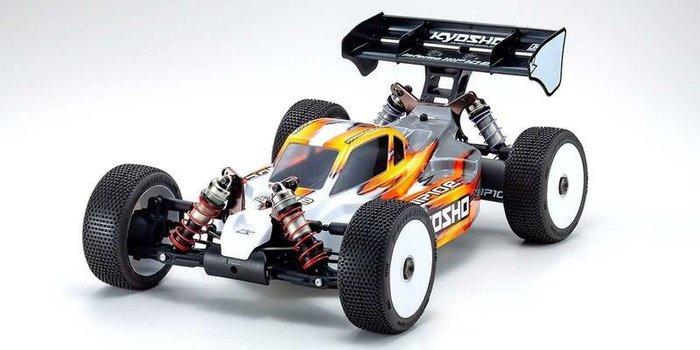 大千遙控模型  Kyosho 1:8 無刷馬達 4WD 賽車 越野車 34110
