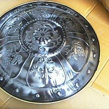 仿古歐式羅馬裝飾圓盾牌工藝品壁掛擺件COS道具酒吧家居裝飾