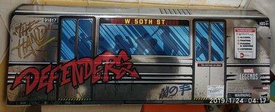 全新Hasbro Marvel Legends Figures SDCC 2018 Netfix Defenders Rail Authority 5 Pack