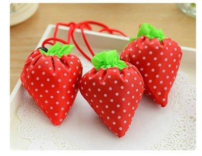 &美學小屋& 草莓購物袋,造型購物袋,卡通購物袋,環保購物袋,購物袋,手提袋,帆布袋