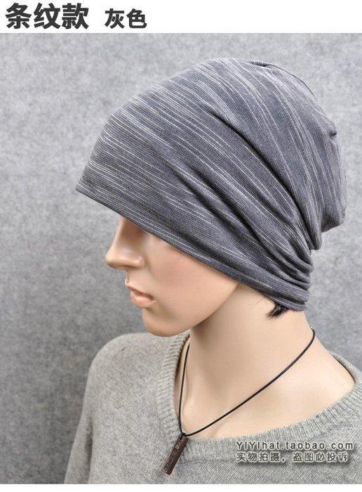 大頭圍帽子韓版男士休閑潮保暖騎車針織帽套包頭頭帽秋冬天女2134