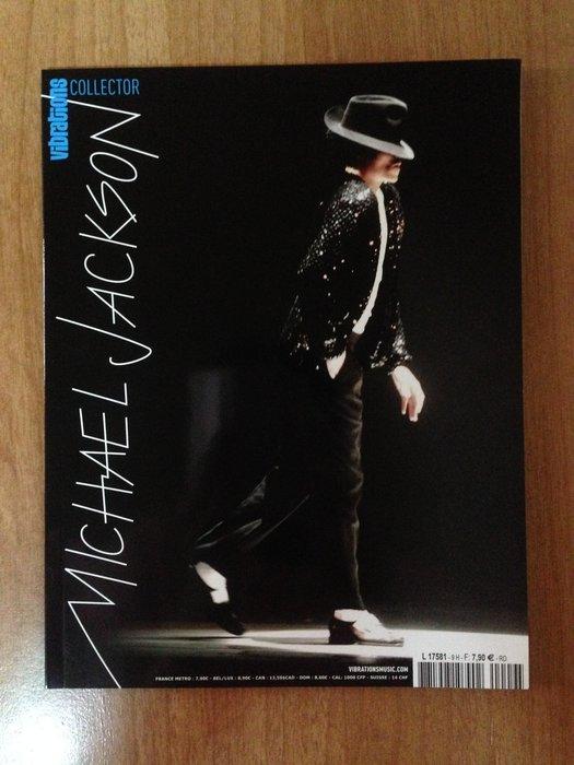 (法文.絶版) Vibrations collector Michael Jackson 麥可傑克森