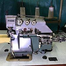 工業布邊縫紉機 日本製 飛馬牌 小管特種布邊車  適用拷下擺丶小袖口丶手套用
