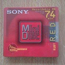 全新 SONY MD 空白片/燒錄片 (1入) (74分)+TDK MD(5入)(74分)