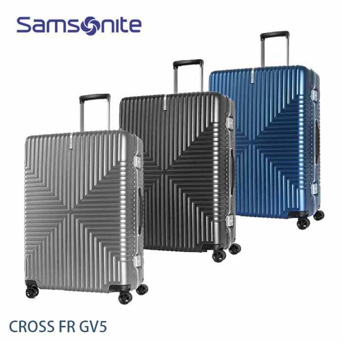 ↘7折 Samsonite 新秀麗 CROSS FR GV5 輕鋁框 25吋行李箱 霧面PC 大容量 飛機輪 +送好禮