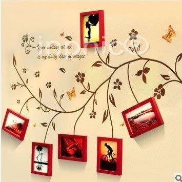INPHIC-實木相框照片牆歐式 相框牆相片牆創意壁貼組合 韓式簡約