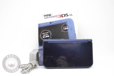 【高雄青蘋果3C】任天堂 Nintendo NEW 3DS LL 藍 日版遊戲主機 二手掌上型遊戲機 #63095