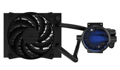 光華CUMA散熱精品*Coolermaster MasterLiquid Pro 120 CPU水冷散熱器 雙風扇~現貨