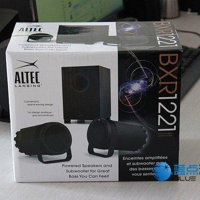 5Cgo【權宇】ALTEC LANSING BXR1221精緻三件式2.1音響級喇叭+超重低音炮 清晰高音220V 含稅