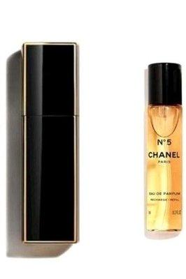 CHANEL 香奈兒 N°5 NO5 5號  隨身 行動 淡香水 金邊噴瓶 含香水 20ml