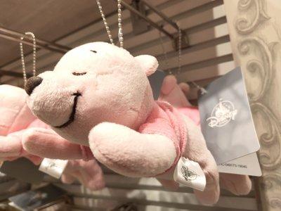 日本東京迪士尼櫻花粉紅維尼吊飾(現貨2個)