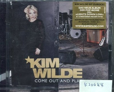 *真音樂* KIM WILDE / COME OUT AND PLAY 全新 K20044