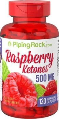 【活力小站】Piping Rock 覆盆莓 Raspberry Ketones 覆盆子酮 500mg 120顆