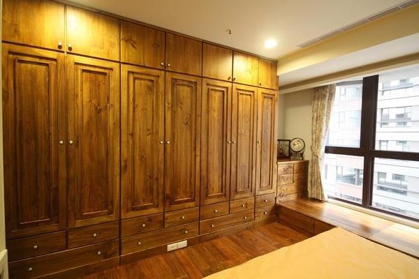 原木工坊~ 居家空間設計規劃  原木衣櫃收納櫃組