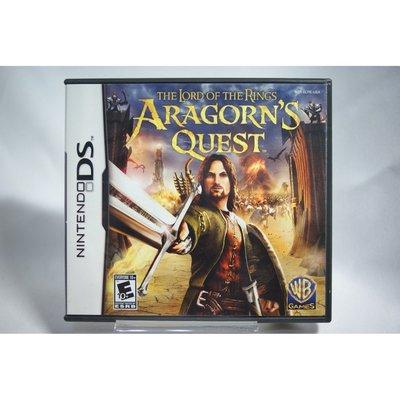 [耀西]二手 美版 任天堂 DS NDS 魔戒:亞拉崗勇者之路 Lord Of Rings Aragorns Quest