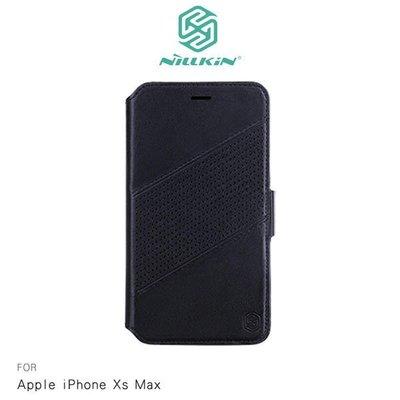 *phone寶*NILLKIN Apple iPhone Xs Max 精銳二合一磁吸皮套 可插卡站立 分離式背蓋皮套