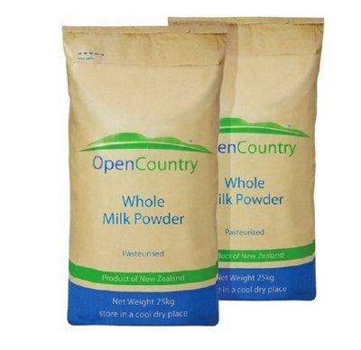 [吉田佳]B13102,紐西蘭OPEN全脂奶粉28%,德紐全脂奶粉,德紐奶粉,25kg