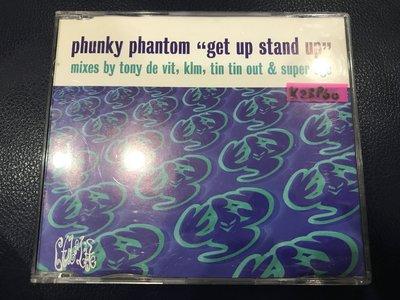 *真音樂*PHUNKY PHANTOM / GET UP STAND UP 二手 K23960