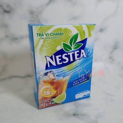 YOYO[VN] ? 越南 NESTEA 雀巢 即溶 檸檬 風味茶 14g*18包