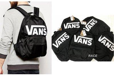 【RACE】VANS Old Skool II Backpack 後背包 全新 基本款 LOGO 經典 滑板 男女 黑