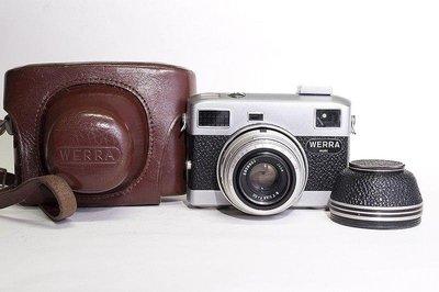 Carl Zeiss Jena Werra matic Tessar 2.8/50mm 疊影對焦