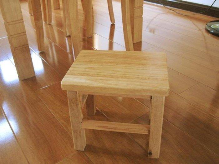 〖全館免運-可開發票〗橡木凳子實木小凳子小方凳木板凳換鞋凳矮凳家用板凳 【安可居】