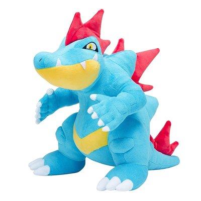 【中心限定】現貨 日版 大力鱷 布偶 玩偶 精靈寶可夢 金銀 御三家 娃娃 神奇寶貝中心限定 日本正版 小鋸鱷