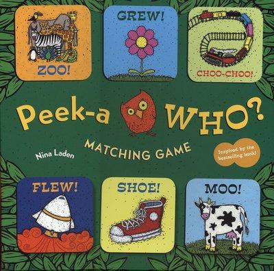 *小貝比的家*PEEK-A WHO? /MATCHING GAME/36張字卡